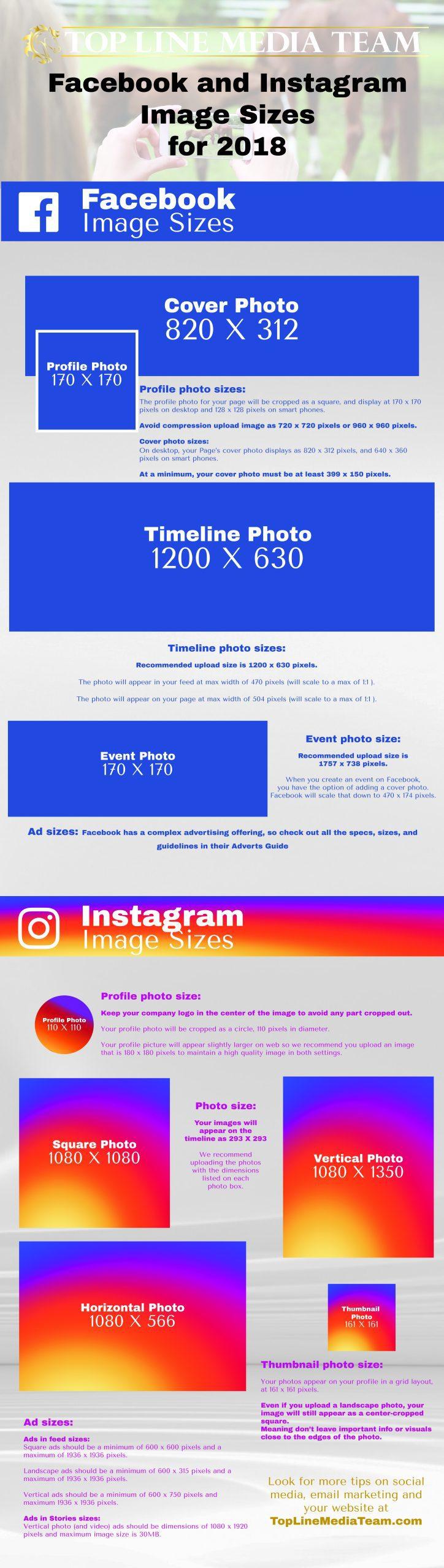 FB and Insta Size Infographichorse_TopLineMediaTeam - Top